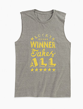WINNER TAKE ALL MUSCLE TEE