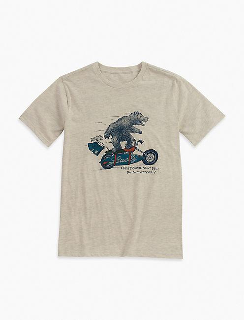 SURFIN MOTO BEAR TEE,
