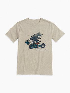 SURFIN MOTO BEAR TEE