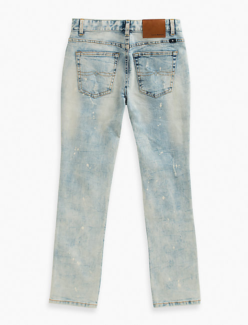 Lucky Denim Pants With Paint Splatter