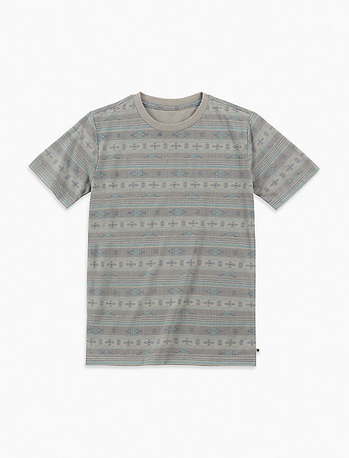 BOYS S-XL SOUTHWEST STRIPE TEE,