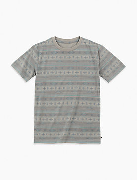 LITTLE BOYS 5-7 SOUTHWEST STRIPE TEE