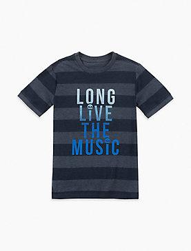 LONG LIVE THE MUSIC TEE