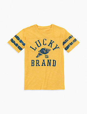 LITTLE BOYS 5-7 LUCKY BRAND SPORT TEE