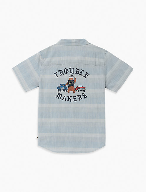 Lucky Little Boys 5-7 Liam Slub Shirt