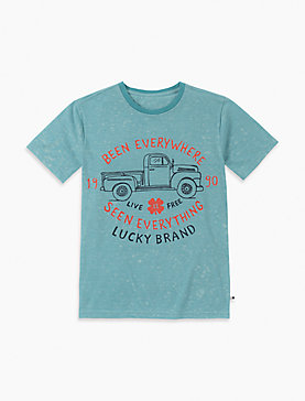 LITTLE BOYS 5-7 BEEN EVERYWHERE SLUB TEE