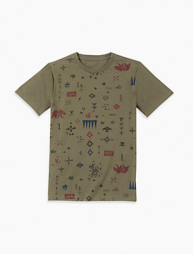 BOYS S-XL PRINTED TEE