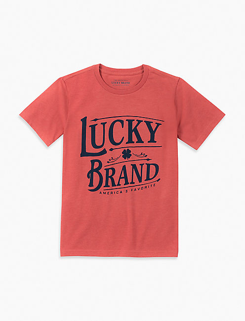 BOYS S-XL GRAPHIC TEE,