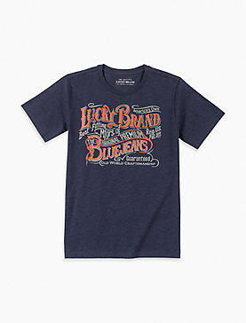 LITTLE BOYS 5-7 GRAPHIC TEE