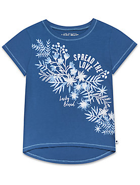 LITTLE GIRLS 5-6X BELINDA TEE