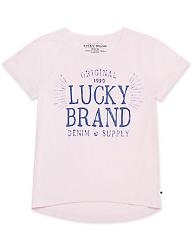 LITTLE GIRLS 5-6X STACI TEE