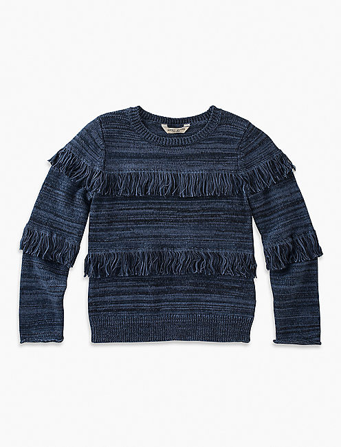 LULU SWEATER, WASHED BLUE