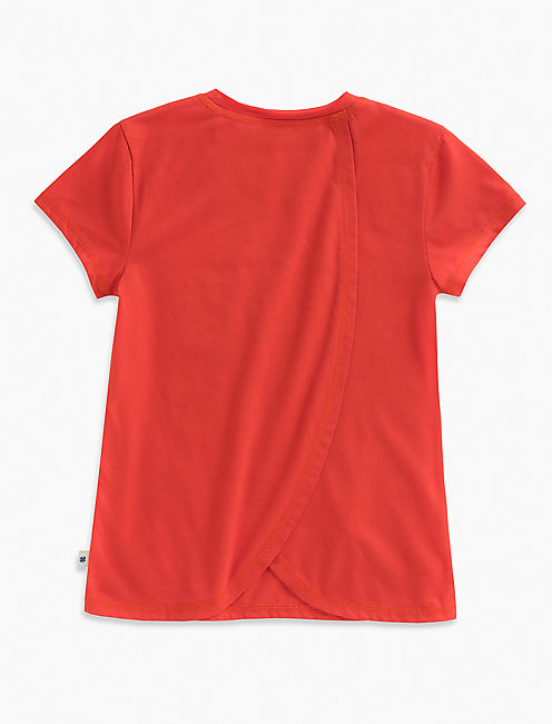 ROGAN TEE, BRIGHT RED