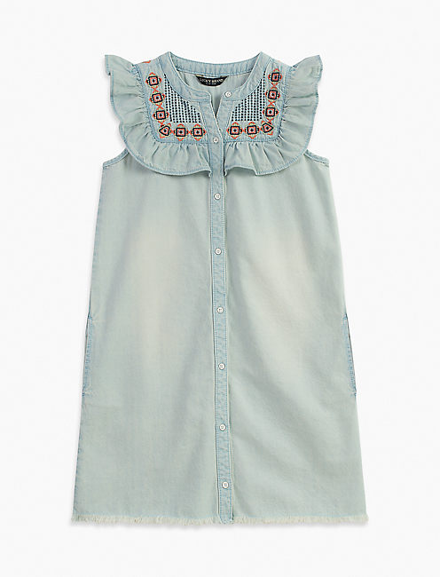 BAILY DRESS, LIGHT BLUE