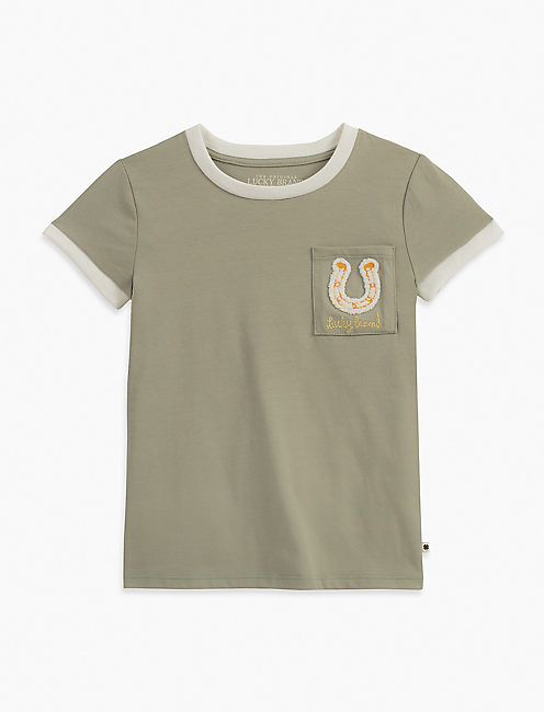 NATALIA TEE, MEDIUM LIGHT GREEN