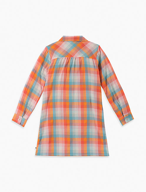 Lucky Girls S-Xl Astrid Plaid Dress