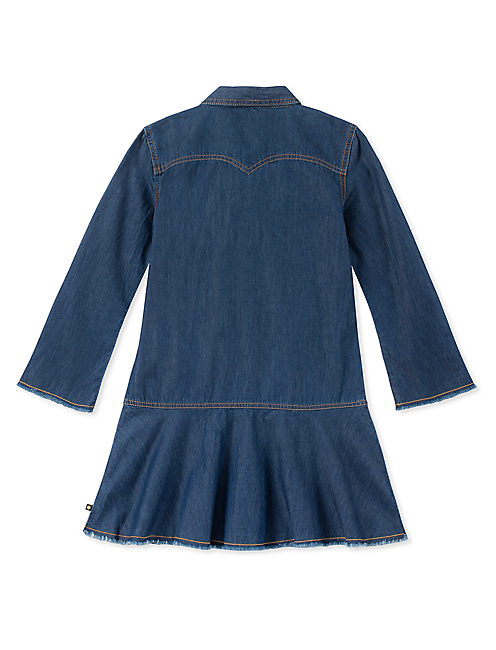 Lucky Girls S-Xl Rae Denim Dress