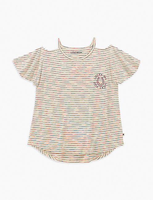 LITTLE GIRLS 5-6X ANOUK TEE,