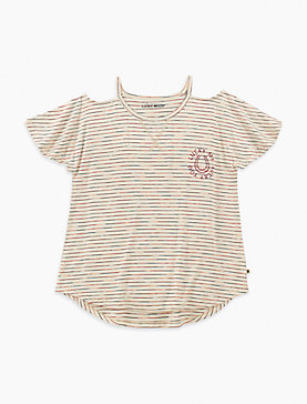 LITTLE GIRLS 5-6X ANOUK TEE