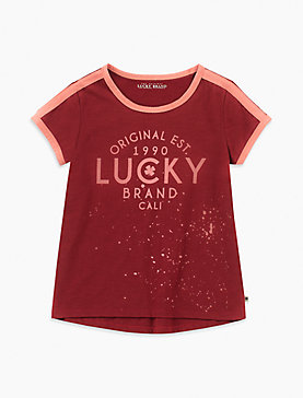 LITTLE GIRLS 2T-6X ELIOSA TEE