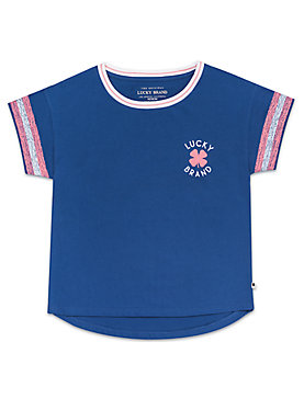 LITTLE GIRLS 5-6X GITANA TEE