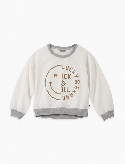 LITTLE GIRLS 5-6X ANTOINIETTE SWEATSHIRT,