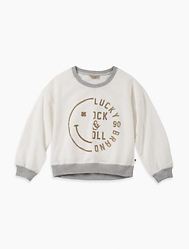 LITTLE GIRLS 5-6X ANTOINIETTE SWEATSHIRT