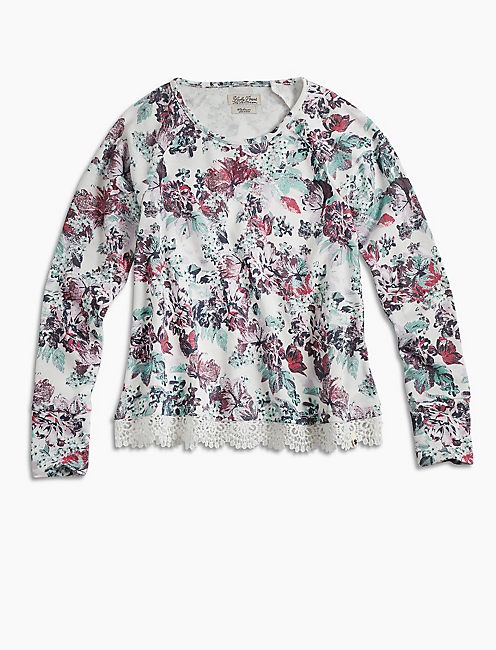 FLORAL PRINTED POPOVER,