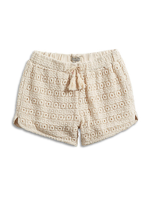 CROCHET SHORTY SHORT,
