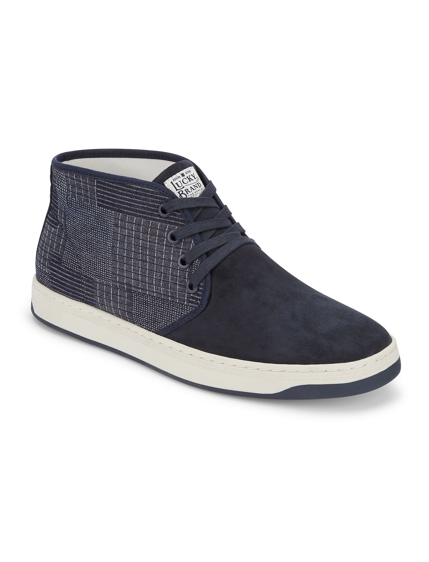 Payne Mixed Textile Sneaker | Tuggl