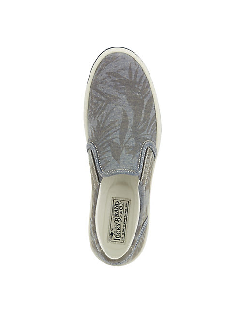 STYLES PRINTED SNEAKER, LIGHT BLUE