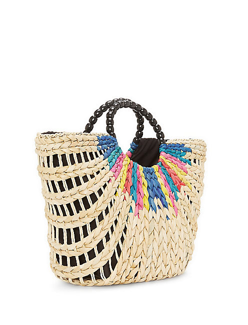 Lucky Baria Straw Shopper