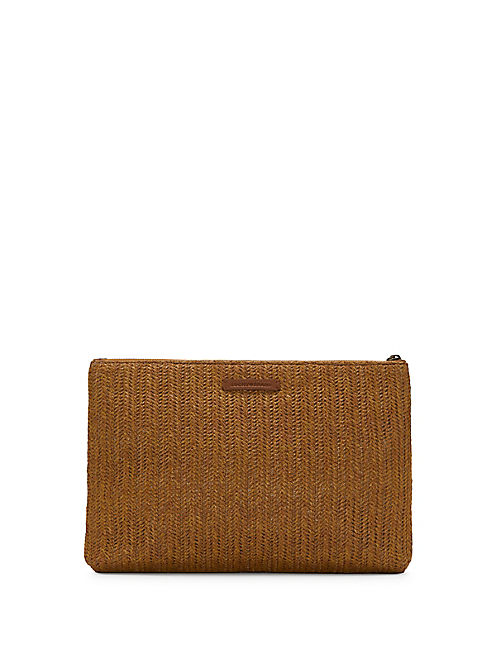 FIG CLUTCH, LIGHT BROWN