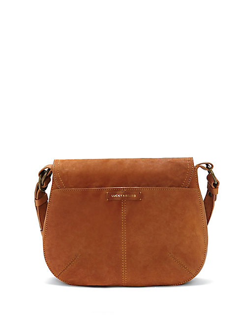 LIZA SHOULDER, LIGHT BROWN