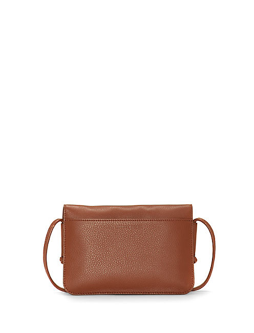 LORE CONVERTIBLE WALLET, LIGHT BROWN