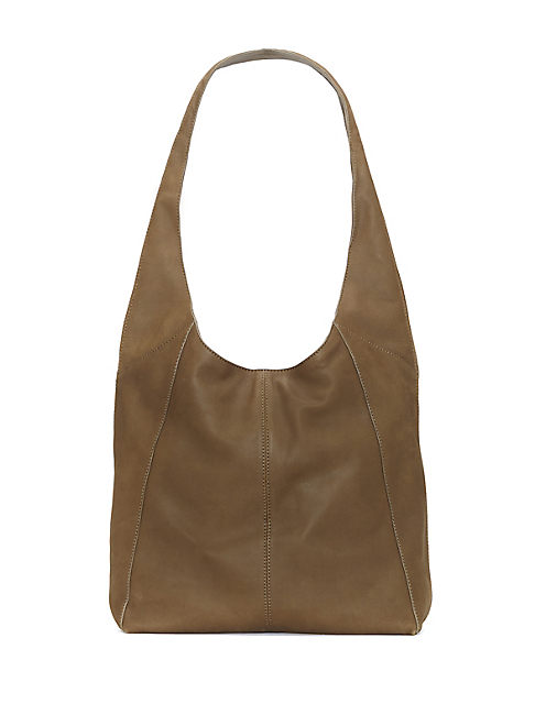 PATTI SHOULDER BAG, DARK BEIGE