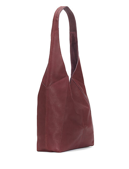 PATTI SHOULDER BAG, DARK PURPLE