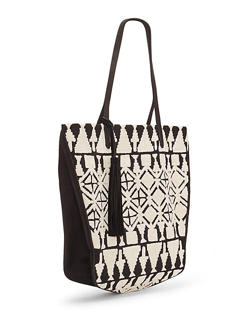 REEVE TOTE, FEATHER