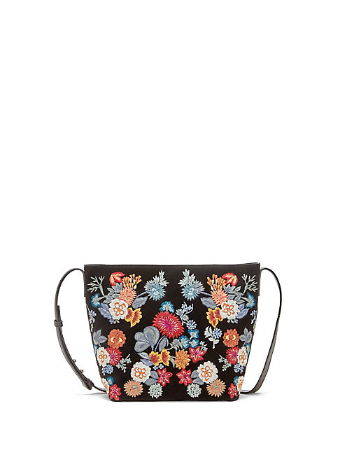 SUPER BLOOM EMBROIDERED CROSSBODY,