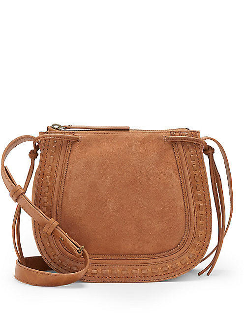 WESTON SHOULDER BAG, LIGHT BROWN