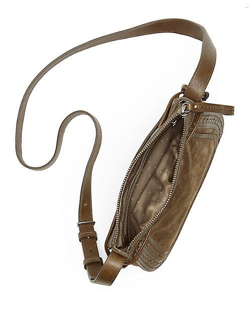 WESTON SHOULDER BAG, IVY GREEN