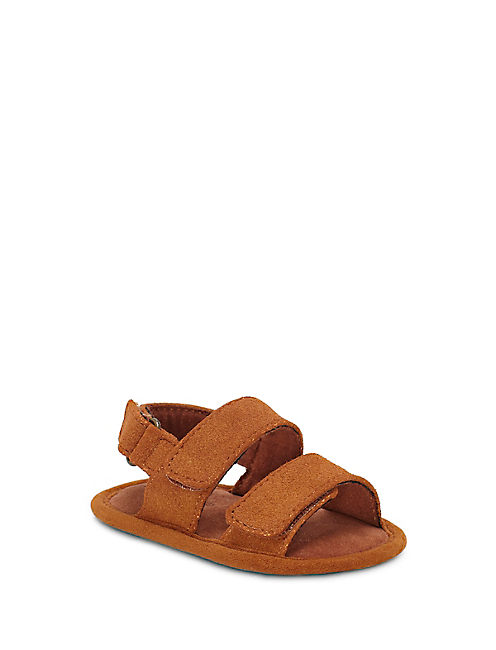 BABY 1-4 INFANT CARDAR SANDAL, RUST BROWN