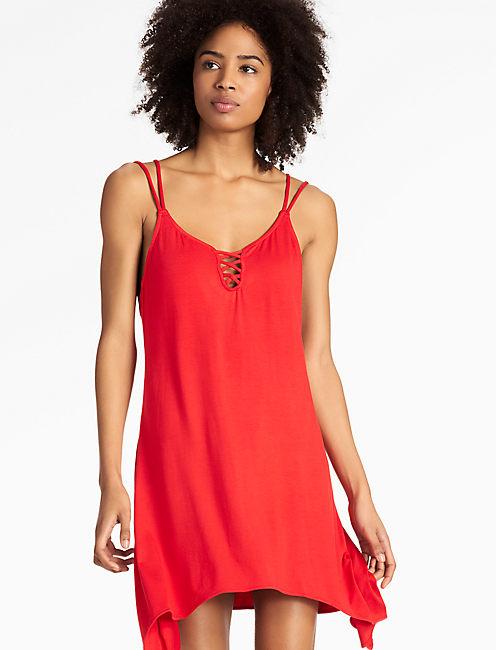 CATALINA SUNSET SWING DRESS,