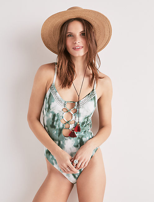 INDIAN SUMMER TYE DYE ONE PIECE,