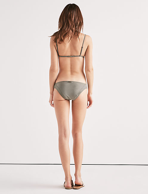 SUEDE WITH ME HIPSTER BOTTOM,