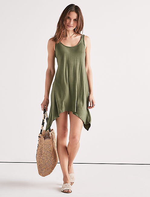TAKE COVER SWING DRESS,