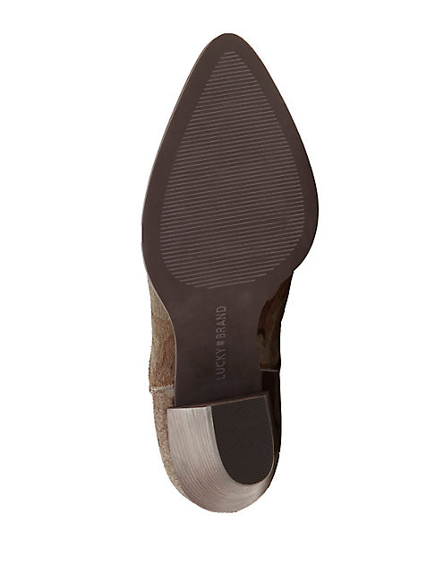 ADALAN HAIRCALF BOOTIE,