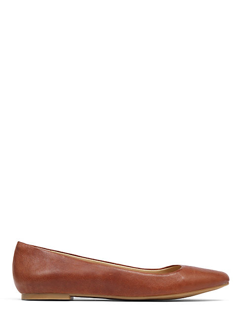 AIMEE FLAT, DARK RED