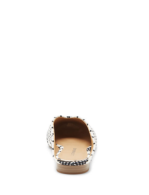 BARBORA SLIDE FLAT, FEATHER