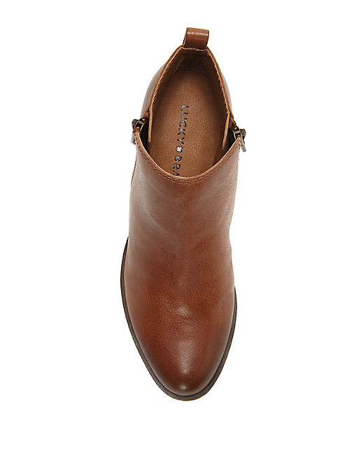 BASEL FLAT BOOTIE, TOFFEE